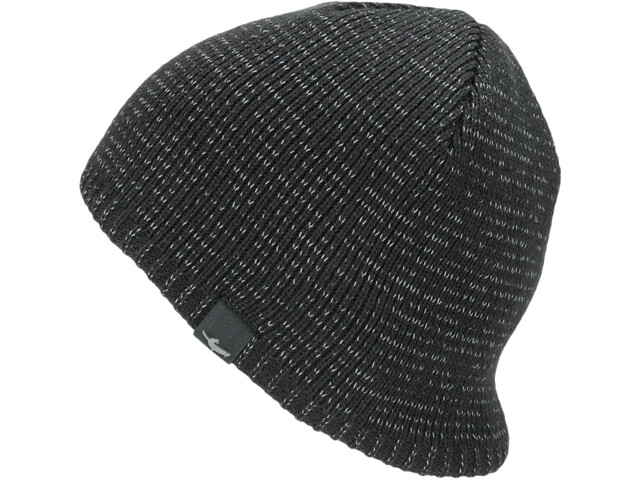 Sealskinz Waterproof Cold Weather Reflective Beanie Black